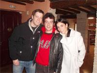 Cuarte en Onda entrevista a Manolita y Marcelino,de Amar en tiempos revueltos.